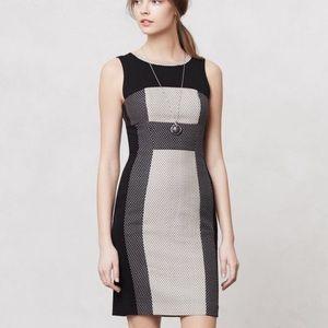 Anthropologie Yoana Baraschi black and white dress